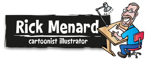 Rick Menard - Cartoonist Illustrator